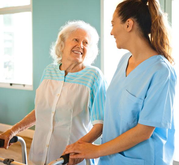 Nurse and Women at Bethel Pointe
